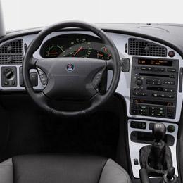 Aluminium dashboard Saab 9-5, 40013148