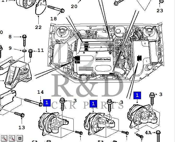 Brilliant Motorsteun Saab 9 3Ss 13207586 Wiring 101 Akebwellnesstrialsorg